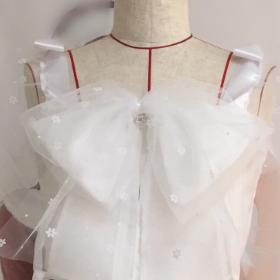 白色のアイドル衣装